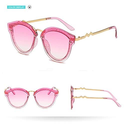 Taiyangcheng Metal plástico Ojo de gato Gafas de sol Mujeres Colorido Negro Gafas Mujer Oval,rosa púrpura Gradual