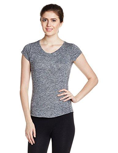 PUMA Damen T-shirt Cat Tee, black heather, XS, 514121 01 (Tee Top Cat)