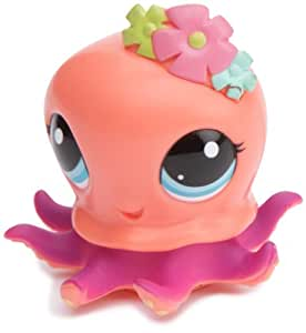 Littlest Pet Shop - 37042 - Figurine - Petshop Trotteur - Pieuvre