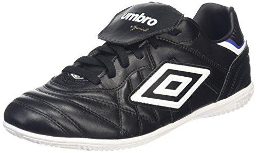 Umbro Speciali Eternal Premier IC Scarpe da Calcio Uomo, Nero (Black/White/Clematis Blue) 42.5 EU