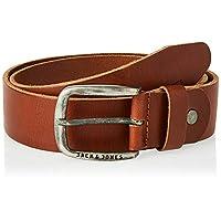 JACK & JONES JJIPAUL JJLEATHER BELT NOOS, Men's Belt, Brown (Mocha Bisque), 95 cm (Manufacturer's size: 95)