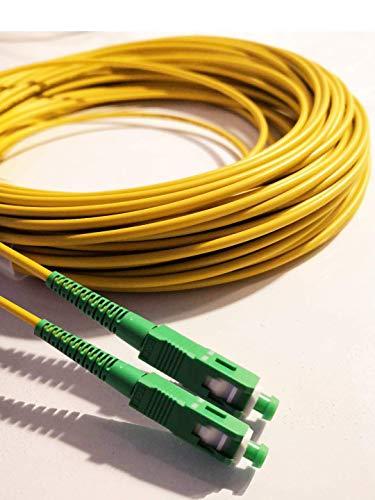 Fiber óptica cable SC / APC SC / APC monomodo simplex