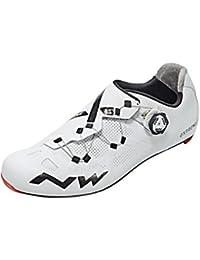 Northwave - Zapatillas de Ciclismo para Hombre, Color Blanco y Negro