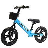 Bike 12In Balance, Kinderlaufrad Kinderrad Für Jungen Und Mädchen Ab 2-6 Jahre Das Verstellbare Lauflernrad,Blue