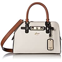 GUESS Cherie Small Girlfriend Satchel, Stone Multi
