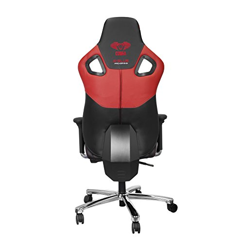 Cheapest Price for E-Blue Cobra Gaming Chair PU Leather Office Ergonomic Computer eSports Desk Executive EEC303R Red on Amazon