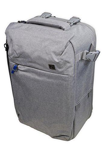 Komers 1601 Grey photo backpack for DSLR camera grey