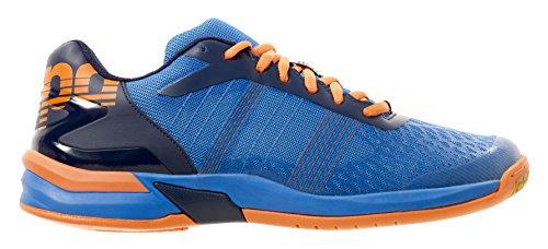Kempa Attack Three Contender, Chaussures de Handball Homme Bleu (Energy Blau/marine/fluo O)