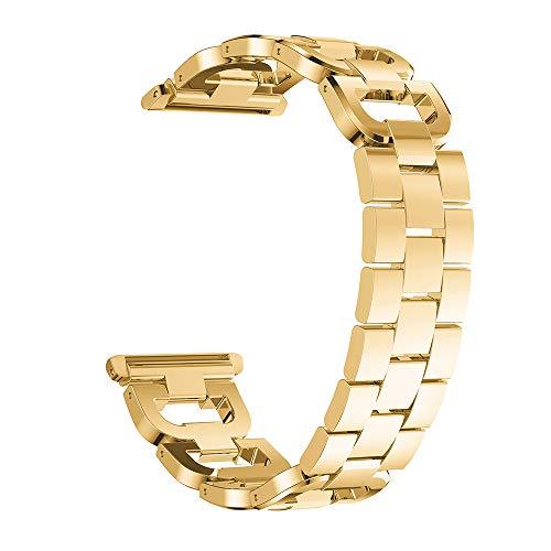 gaddrt Uhrenarmband Edelstahl Armband Smart Watch Band Strap für Apple Watch Series 4 44MM (Gold)