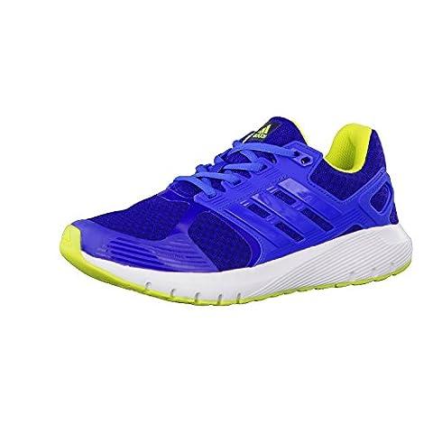 Adidas Duramo 8 K, Chaussures de Running Mixte Enfant, Multicolore (Mystery Ink F17/Blue/Semi Solar Yellow), 38 2/3 EU