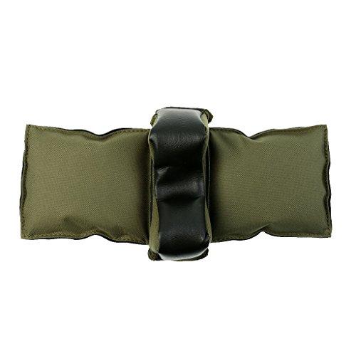 Gazechimp Gewehrauflage (Hinterschaftauflage / Vorderschaftauflage) Waffenauflage für Gewehre und Luftgewehre, gefüllt