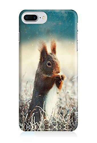 COVER Eichhörnchen Tier Design Handy Hülle Case 3D-Druck Top-Qualität kratzfest Apple iPhone 8 Plus