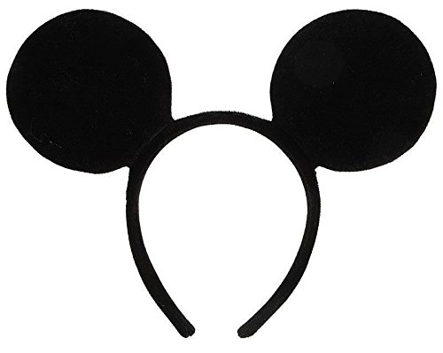 Minnie Mickey Mouse-Ohren Stirnband Abendkleid-Henne Night Party (Fantasia Mickey Mouse Kostüm)