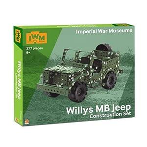 Imperial War Museums FOX025.UK.CS Willys MB Jeep Set de construcción, Varios