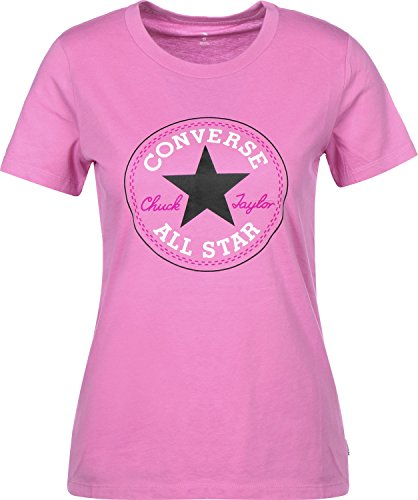 Converse Core Solid Chuck Patch Crew W Camiseta LR Orchid