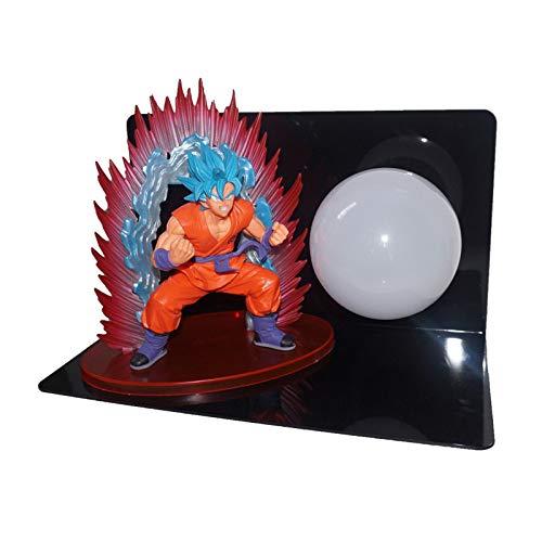Festival Ausrüstung, Hauptdekoration,Dragon Ball Sun Wukong Super Blue Welt Wang Boxen Yuan Luft bombardiert LED Augenschutz, Wukong2