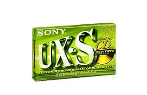Sony Cassette audio compact Type 2 Supérieur (Position chrome) UXS 90 minutes C90UXS