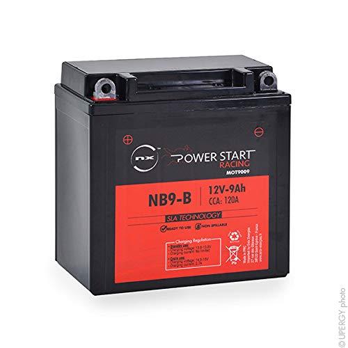 NX - Batteria moto AGM YB9-B - YB9A-A - 2N9-4B-1 12V 9Ah