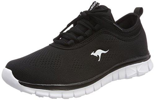 KangaROOS K-Run Neo, Sneaker Unisex – Adulto Nero (Jet Black)