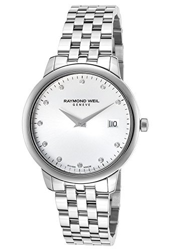 Raymond Weil Women's 'Toccata' Quartz Stainless Steel Dress Watch, Color:Silver-Toned (Model: 5388-ST-65081) by Raymond Weil