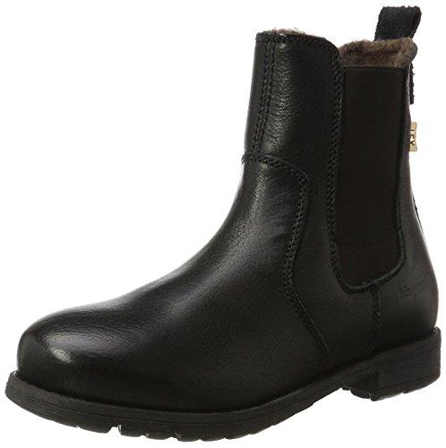 Bisgaard Unisex-Kinder Schlupfstiefelette Stiefel, Schwarz (203 Black), 34 EU