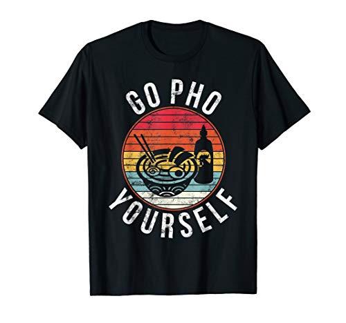 Nudel Kostüm Mann - Geh Pho Selbst Lustiges Hemd Für Männer Frauen Nudeln Essen T-Shirt