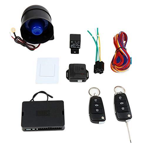Formulaone-CARSFORM-12V-Kit-di-Allarme-per-Auto-Universale-Mute-Auto-Antifurto-Automatico-Dispositivi-di-Allarme-antifurto-per-Serratura-Centrale-Nero