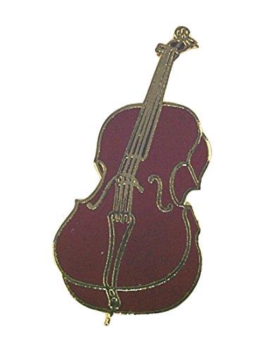 GEWA Unisex-Brosche Anstecknadel Cello - 979072