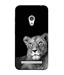 PrintVisa Designer Back Case Cover for Asus Zenfone Selfie ZD551KL (Lion Cub Cheetah Panther)