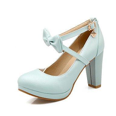Talons pour femmes Chaussures Spring Club Chaussures confortables Mariage Bureau et carrière Robe de soirée et soirée Stiletto Heel Bowknot Jaune Rose Blanc Blue