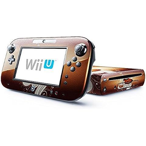 Mia Musica 10005, Chitarra, Skin Autoadesivo Sticker Adesivi Pelle Cover Decal Set con Disegno Strutturato con Nintendo Wii U