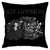 KLDECOR Joy Division Decorative Throw Pillow Covers Case Pillowcases Kissenbezüge (65cmx65cm)
