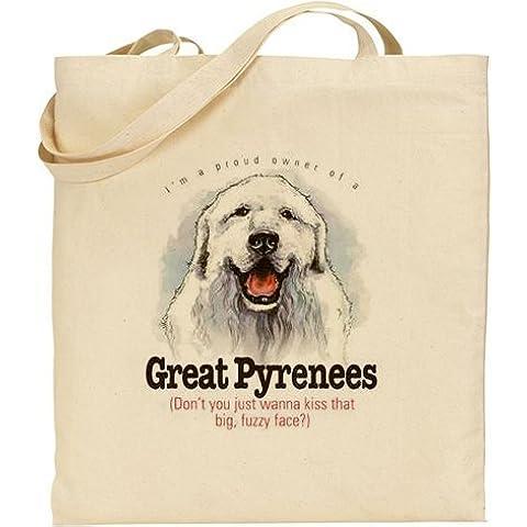 AB–Divertente grande Pirenei cane cotone (Cotone Fuzzy)