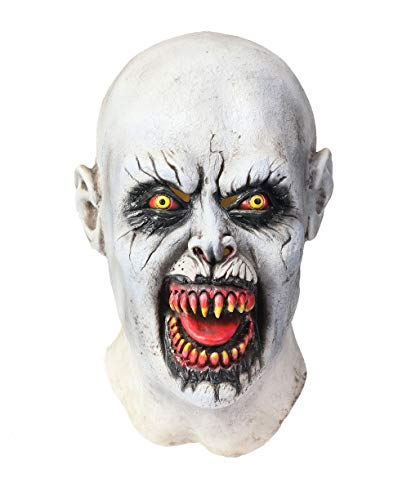 Wellgift Halloween Nun Maske Frauen Scary Voller Kopf Nonne Helm Cosplay Kostüm Karneval Fancy Dress Costume Merchandise (Scary Halloween Kostüme Frauen)
