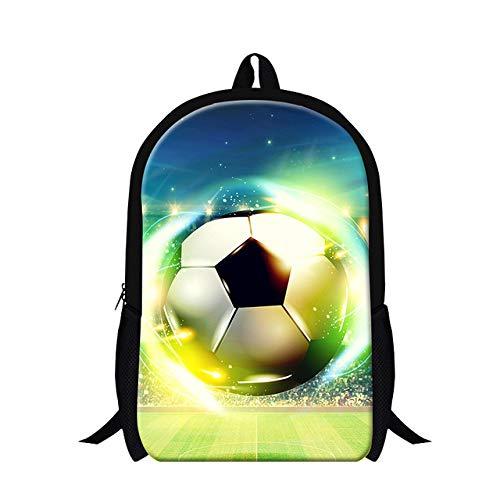 OOGUOSHENG Ball 3D Druck Kinder Schultaschen Jungen Schulrucksäcke Für Teenager Kinder Bookbags Mode Bookbags Für Grundschüler Bookbag -1