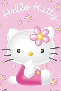 1art1 49546 Poster Hello Kitty Pink 91 x 61 cm