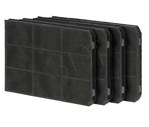 Filtre à charbon pour la hotte TEKA CNL 3000, X 6000 Set 4 Pieces