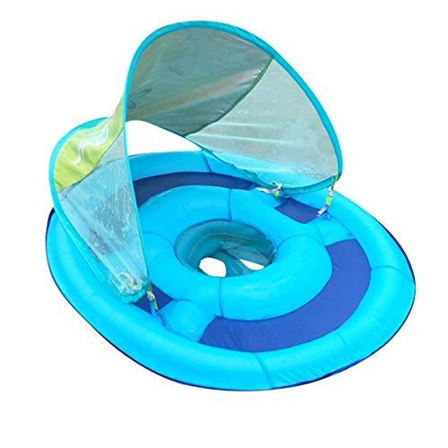 NINGSANJIN Baby Schwimmring Aufblasbares Kinderboot Abnehmbaren umweltfreundlich PVC Schwimmhilfen Aufblasbares Kinderboot Beach Sommer Hingucker für Baby Float Pool