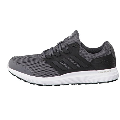 adidas Galaxy 4, Chaussures de Running Compétition Homme Gris (Grey Five/core Black/footwear White)