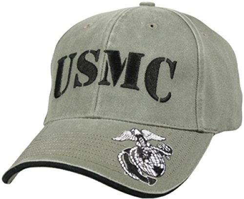 Marine Corps Adler, Globus Und Anker (US MARINES CORPS USMC - GLOBE & ANCHOR Mütze Cap)