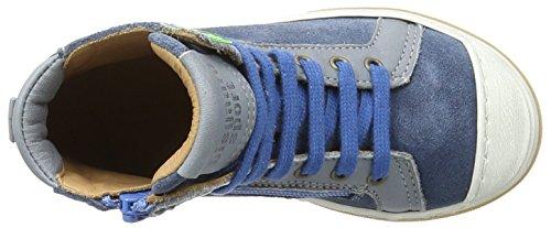 Bisgaard Unisex-Kinder Schnürschuhe High-Top Blau (603-2 Jeans)