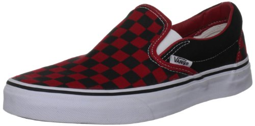 Vans U Classic Slip-on, Baskets mode mixte adulte, Noir (Black/Formula One Checkerboard), 36