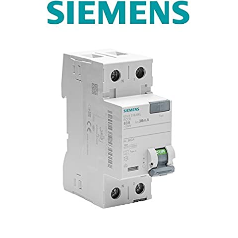 Siemens - Interrupteur différentiel 30 mA 63 A Type