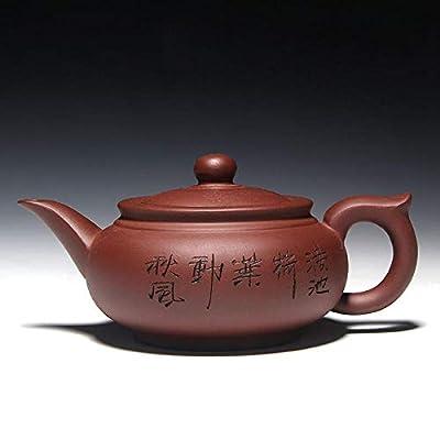 Violet Sable Théière 400Ml Main Kung Fu Thé Théière En Céramique Chinois Céramique Bouilloire En Terre Cuite