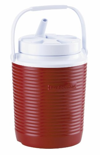 Rubbermaid Victory Jug Water Cooler, 1-gallon, Red by Rubbermaid