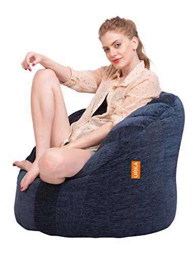 ORKA Big Boss Chair XXXL (Cover Only) - Blue  available at amazon for Rs.1999