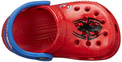 Crocs Classic Spiderman, Sabots Mixte Enfant Rouge (Red)