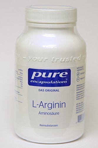 Pure Encapsulations L-Arginin 90 Kapseln