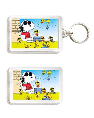 Llavero y Imán Snoopy 2