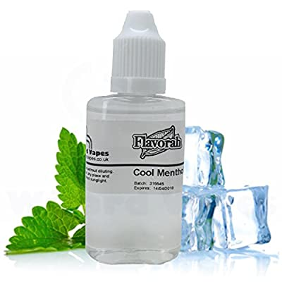 Flavorah Cool Menthol - Flavour concentrate for E-Cigarette E-Liquids DIY Mixing from Wizard Vapes